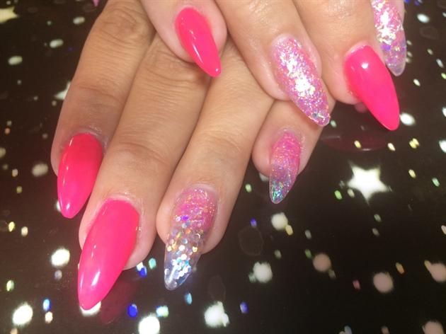 Hot Pink Stiletto Rockstars