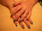 1st Stiletto & netting nails