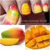 Mango Nail Art