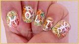 Holi Nails - A Riot Of Colors