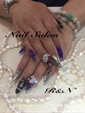 mirror&bigstone nail