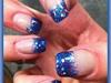 Glitters nails