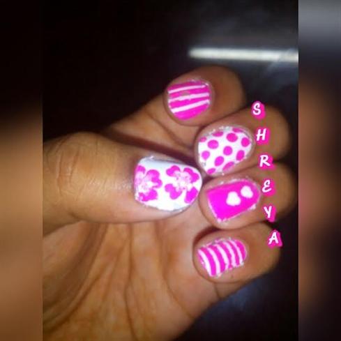 neon pink design