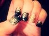 Blue N Gold Sparkles