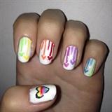 Valentine's nails #3