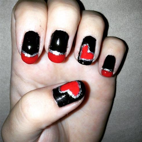 Valentine's Day Nails #4