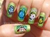 Disney Bugs Life Manicure