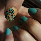 Blue & yellow Cheetah
