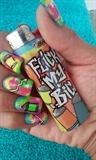 Flick My Bic Graffiti design