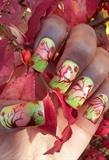 Transitional Nail Art
