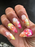 Happy Spring Nail Art
