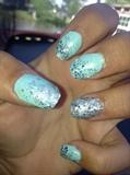Blue Ocean Glitter