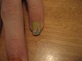 marbled nail