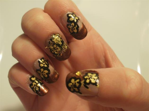 Bronzed Flowers