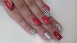 cute victorian nails