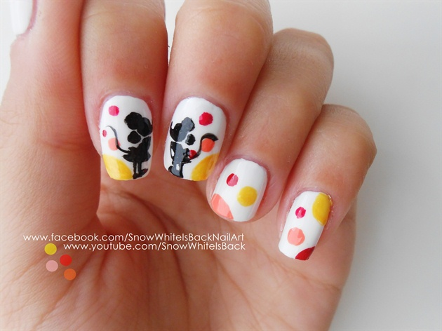 Mickey and minnie nail art gallery mickey and minnie prinsesfo Image collections