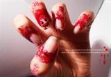 Halloween's Bloody Smiley