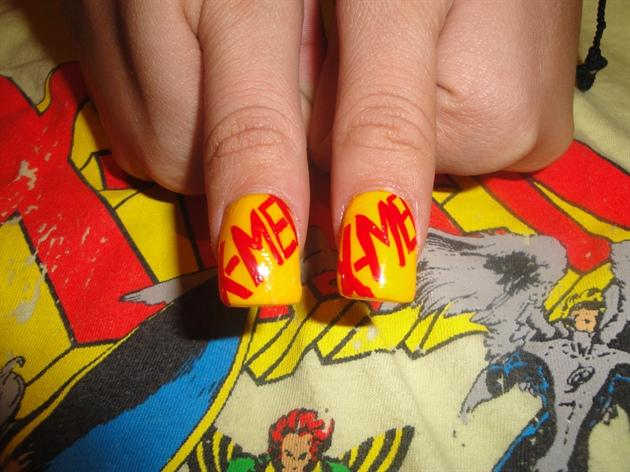 X Men Nail Art Gallery