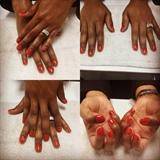 Basic Manicure With Polish