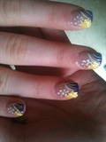 purple n yellow