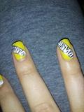 Yellow Zebra (inspired by cutepolish)
