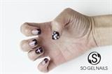 3D Metal Studs with Caviar Beads