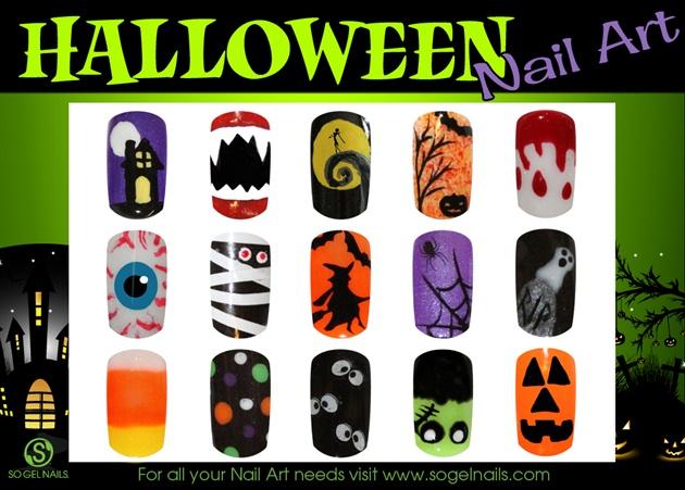 Multiple Halloween Designs