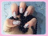 Nail art spiralé