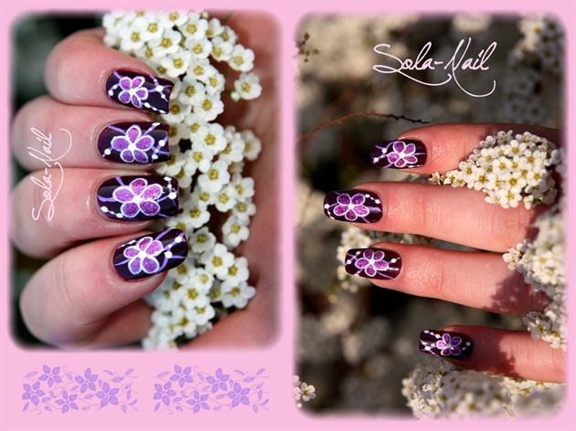 Délicates violettes