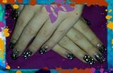 Abstract gel nails