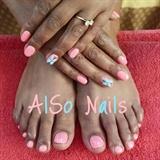 Pink Manicure Pedicure