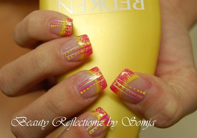 Pink/Yellow Rockstar