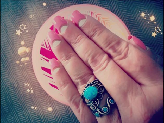 Pink Half Moon
