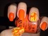 Orange-yellow crackle