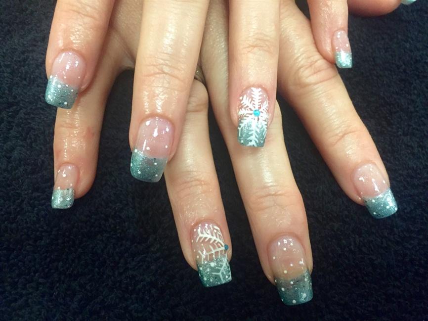 Frozen Nails - Nail Art Gallery
