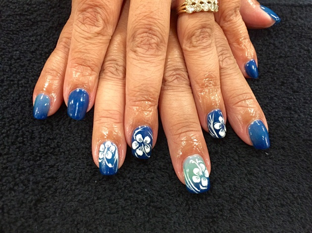 Hawaii nails nail art gallery hawaii nails prinsesfo Image collections