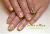 Cute Bumble Bee Nails