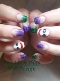 Joker Nails