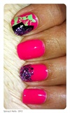 Hot Pink & Glitter
