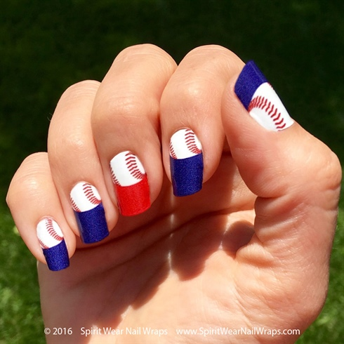MLB Baseball Manicure