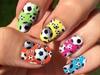 MLS Soccer Ball Nail Art Designs