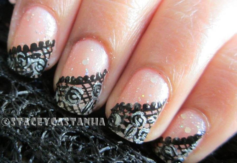 Lace Nail Design - Nail Art Gallery