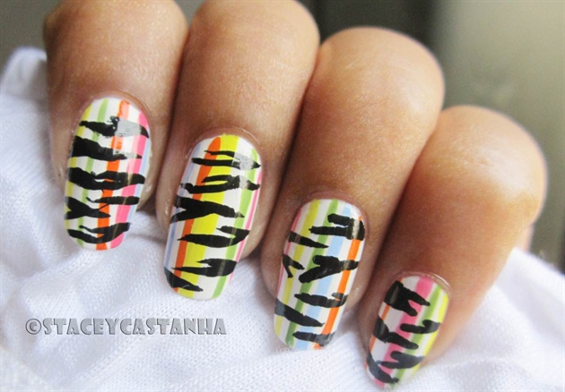 Colorful stripes or Zebra stripes??
