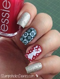 Holiday Nails with Essie