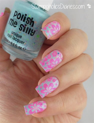 """Polish me silly """"Get breezy"""" & Stamping"""