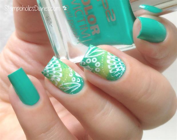 Green Summer Nails