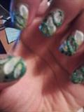 Green w/ beads