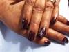 Simple Nail Art on Natural Nails