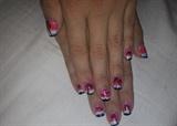 Robin Moses inspired nails