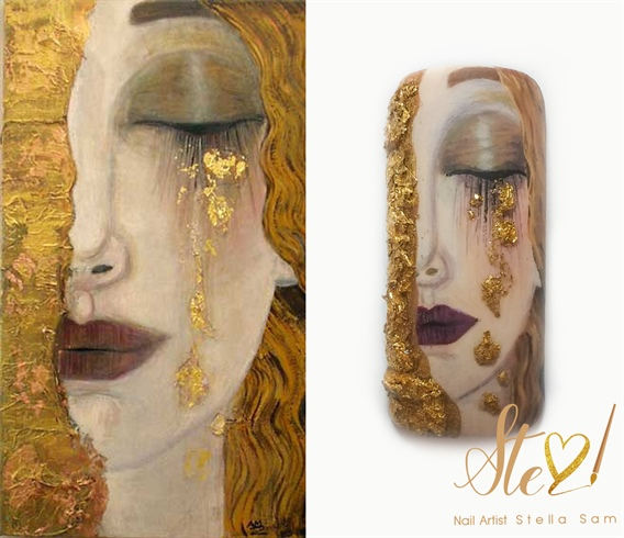 "Mini masterpiece contest ""Golden tears"""